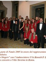 Christmas Party Ambasciata USA - Natale 2005