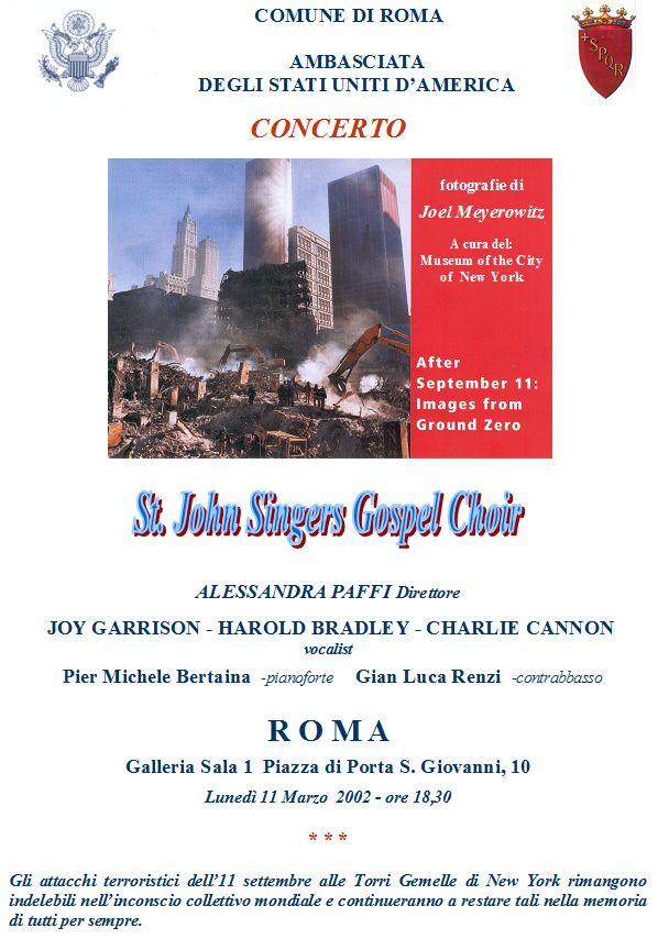 St  John Singers Gospel Choir - National September 11